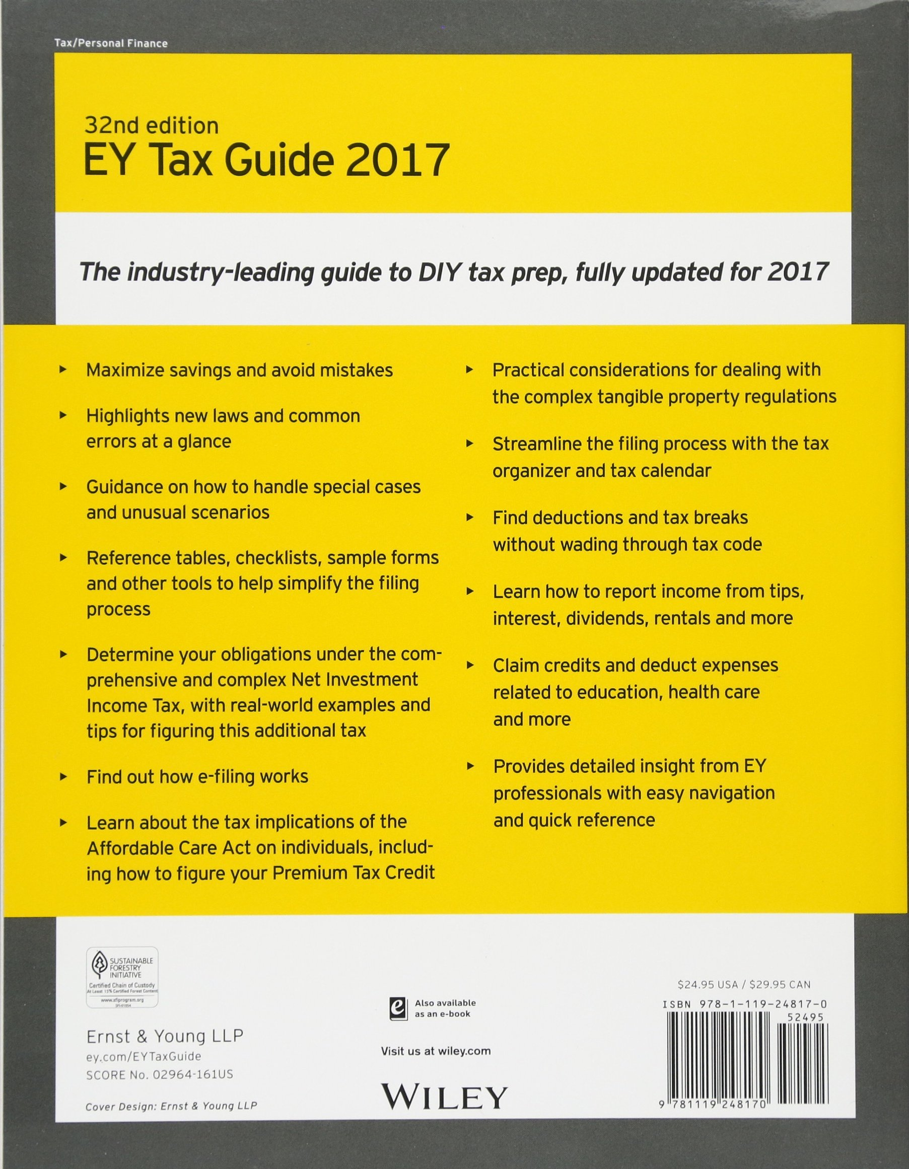 Buy Ernst & Young Tax Guide 2017 Book Online at Low Prices in India