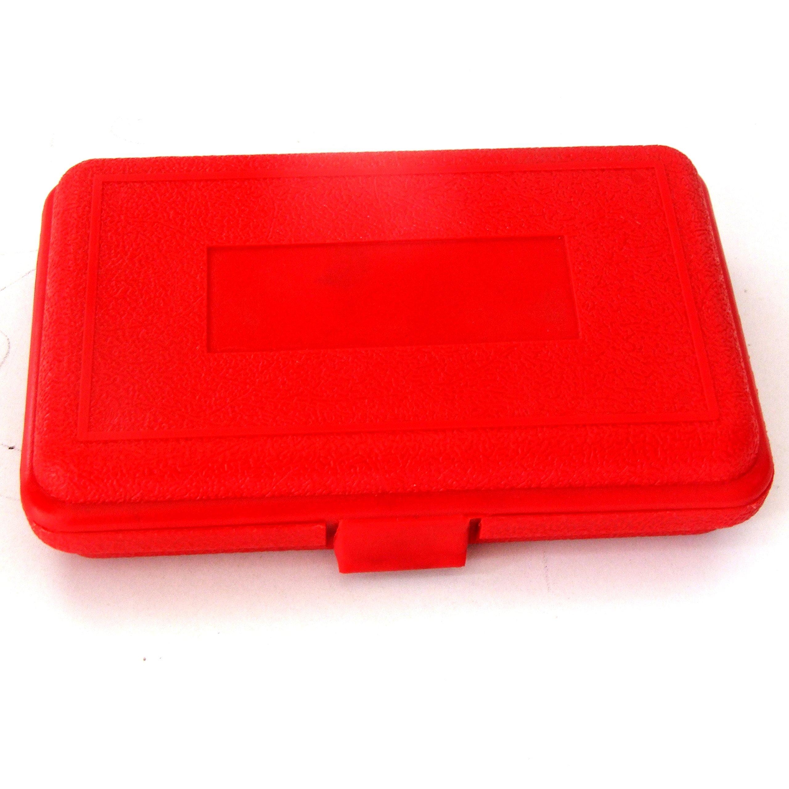 HFS Ultra Precision 1-2-3'' Blocks 2pcs/pair , 0.0001'' (Plastic Case) by HardwareFactoryStore.com