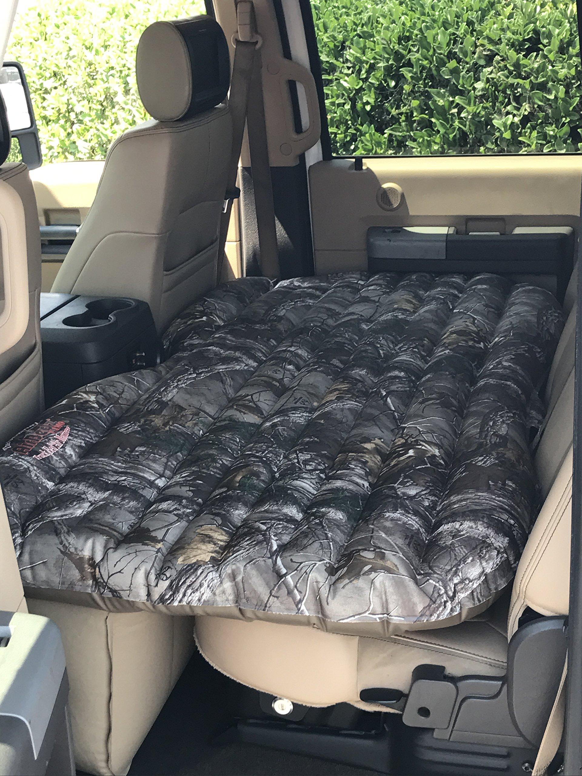 AirBedz PPI CMO_TRKMAT Camo Inflatable Rear Seat Air Mattress for SUVs and Full-Size Trucks by AirBedz