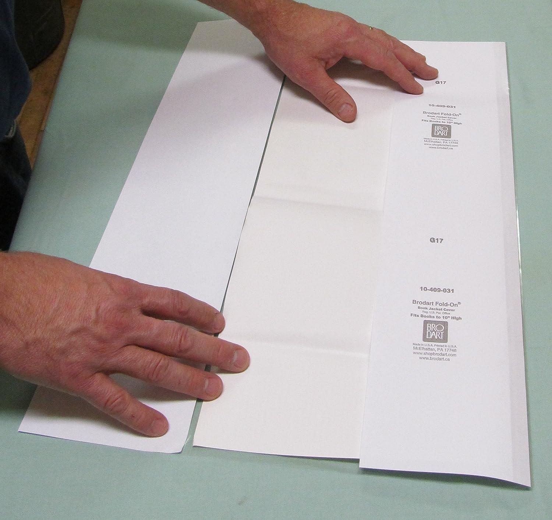 20 Yard roll 10 Brodart Fold-On Archival Book Jacket Covers