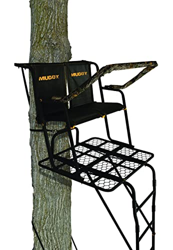 Muddy Partner 2-Man Ladderstand, Black