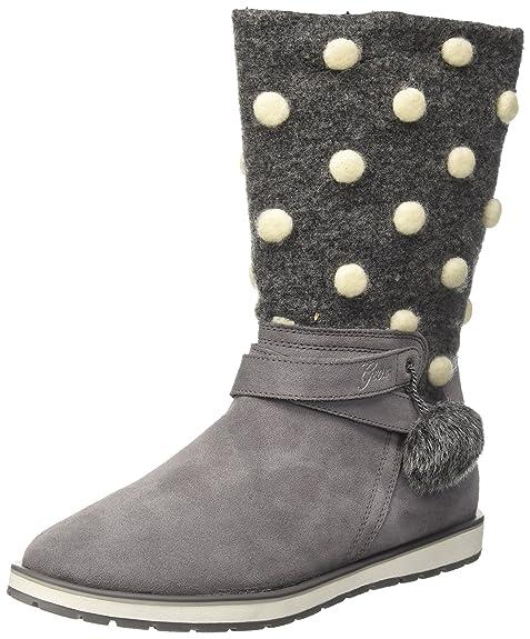 Geox Jr Noha A, Botas Unisex Adulto, Gris (Grey), 41 EU: Amazon.es: Zapatos y complementos