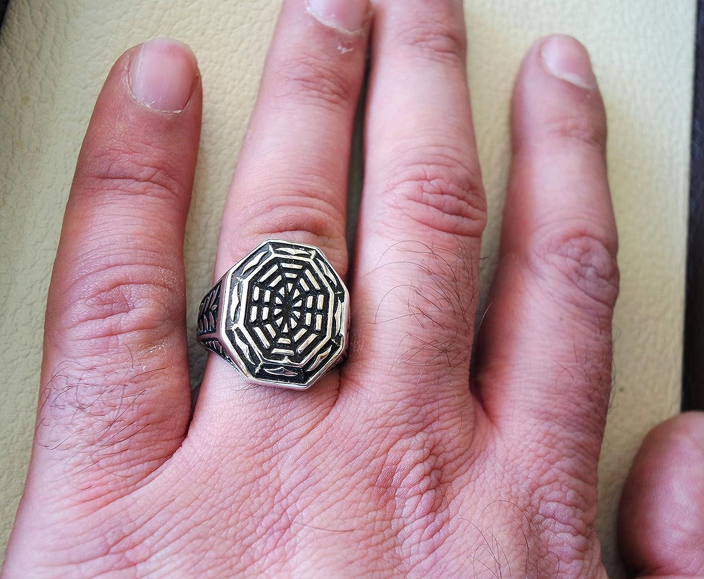 Amazon.com: Arabic Islamic Jewelry, Ornament Celtic Wedding Ring ...