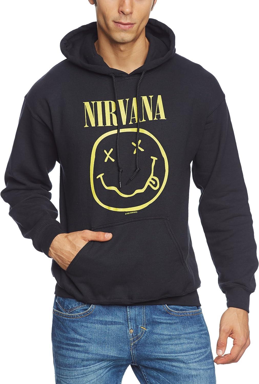 Collectors Mine Herren Sweatshirt Nirvana Smiley