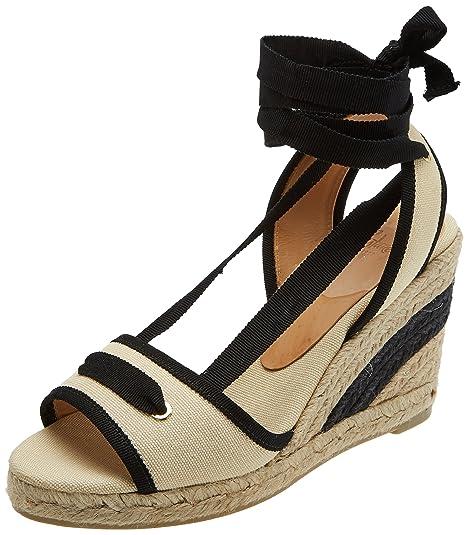 Castañer Grosella8Ss18002, Alpargatas para Mujer, Beige (Camel 2012), 39 EU: Amazon.es: Zapatos y complementos