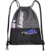 Drawstring Backpack String Bag Gym Sack Sackpack Gymsack Draw Swimming Swim Athletic Sports Snorkel Gymnastics Wrestling Men Women