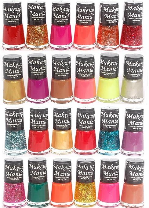 Makeup Mania Exclusive Nail Polish Set (Multicolor No.80, 83, Pack ...