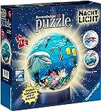 Ravensburger 12143 - Unterwasser Nachtlicht puzzleball, 72 Teile