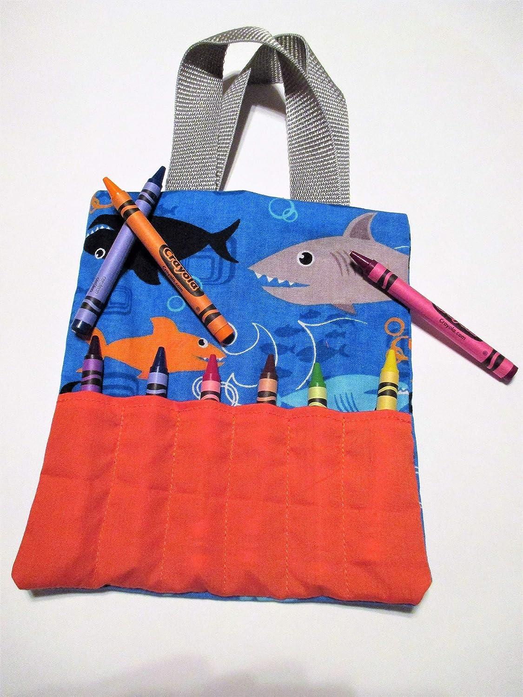 Shark Mini Crayon Bag