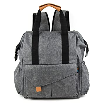 Amazon.com: Bolsa de Pañales de bebé impermeable mochila ...