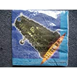 PACK OF 16 DR WHO PAPER NAPKINS