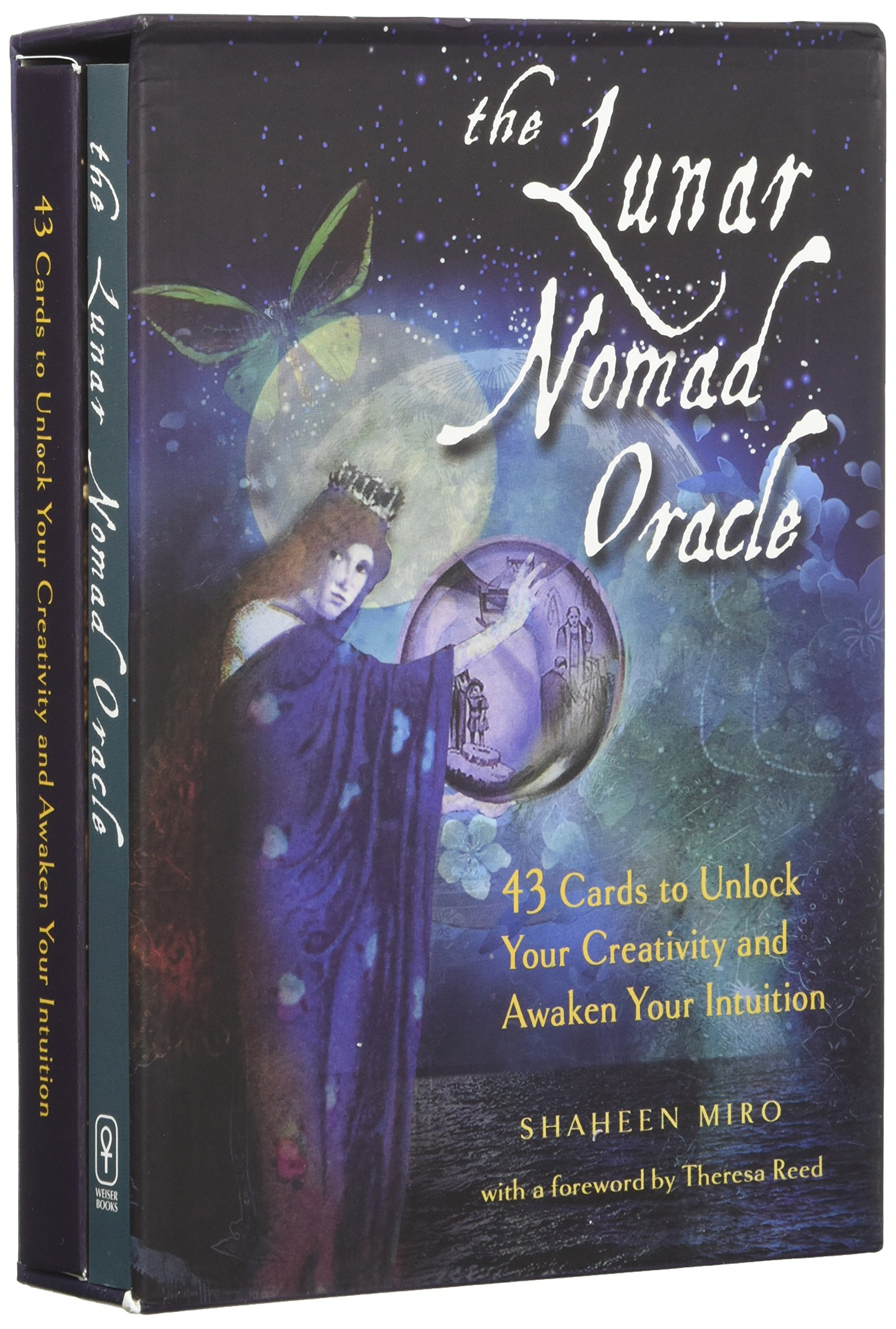 The Lunar Nomad Oracle 43 Cards To Unlock Your Creativity And