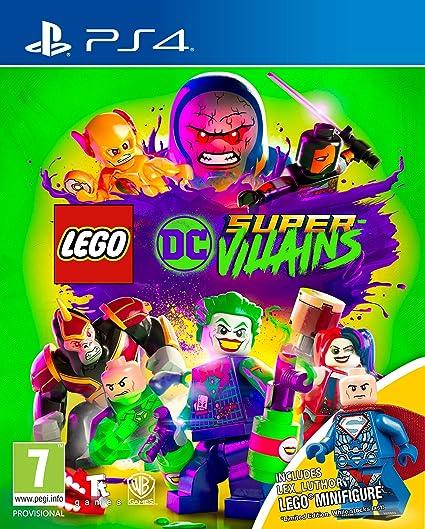 LEGO DC Super-Villains (PS4): Amazon co uk: PC & Video Games
