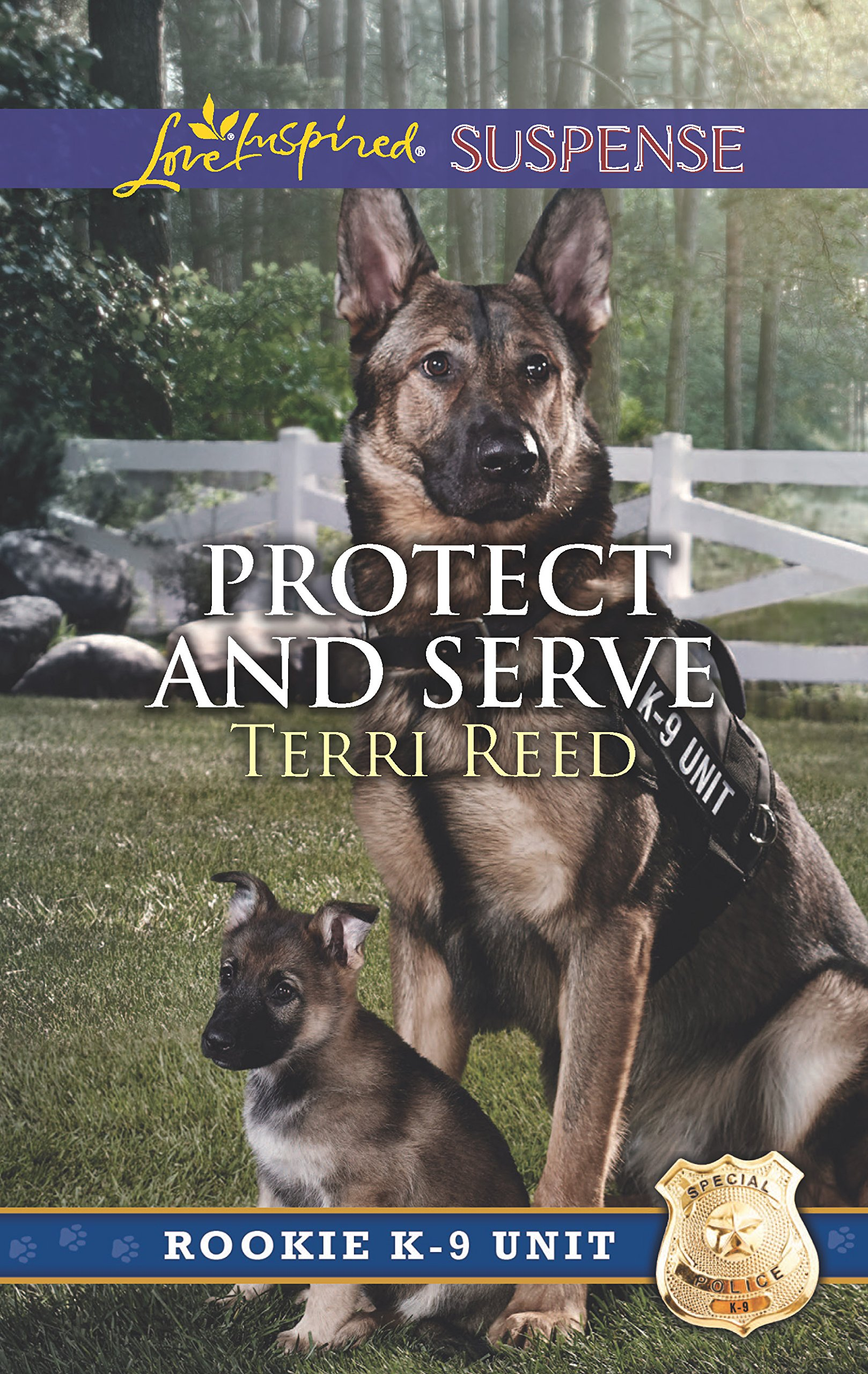 Protect and Serve (Rookie K-9 Unit): Terri Reed: 9780373447336: Amazon.com:  Books
