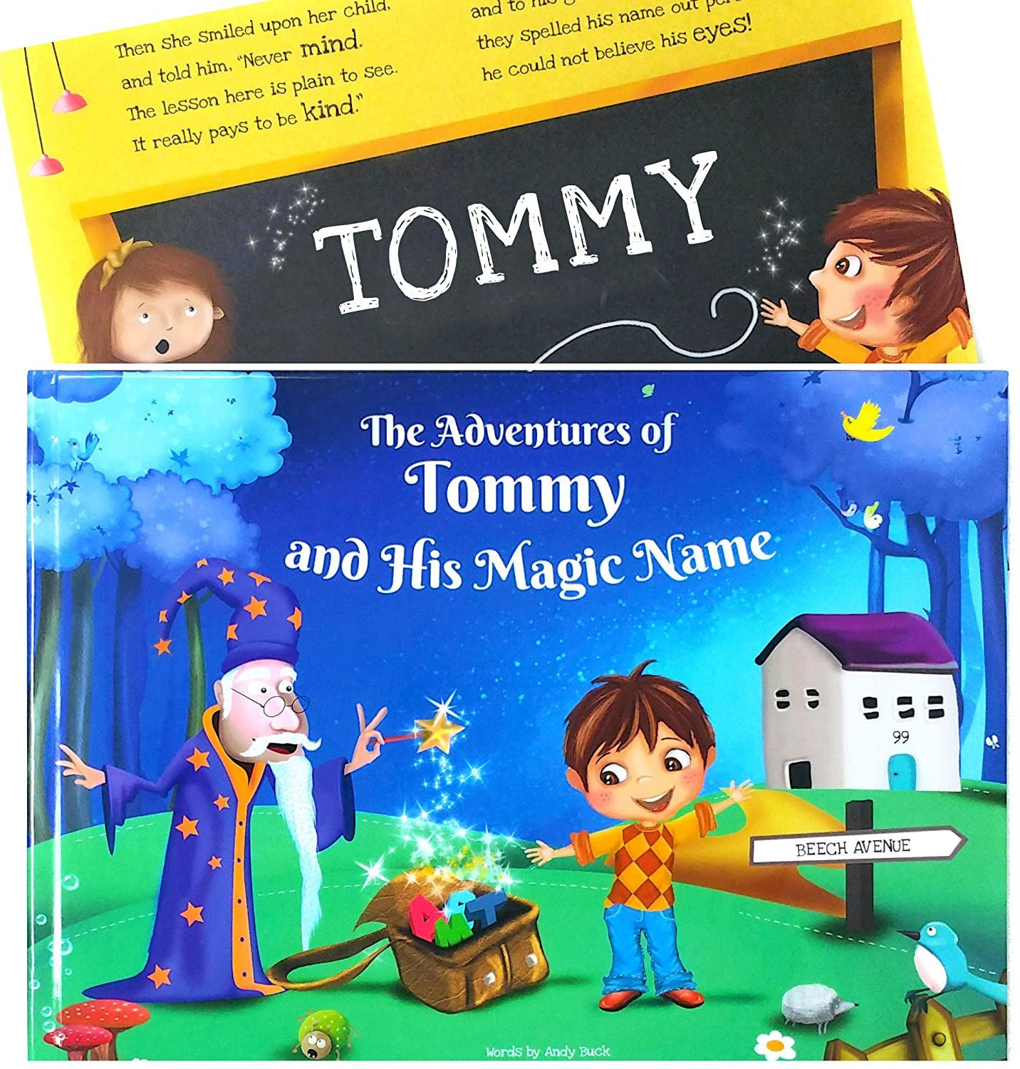 Clever Personalized Story Book for Young Children - Keepsake Gift