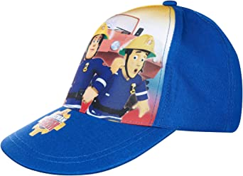 Fireman Sam Official Boys Baseball Summer Cap Yellow 54