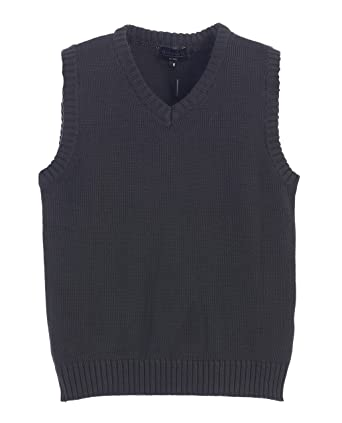 Amazon.com: Gioberti Boy's V-Neck Knitted Pullover Sweater Vest ...