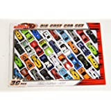 36 Pcs Die Cast F1 Racing Car Vehicle Play Set Cars Kids Boys Toy
