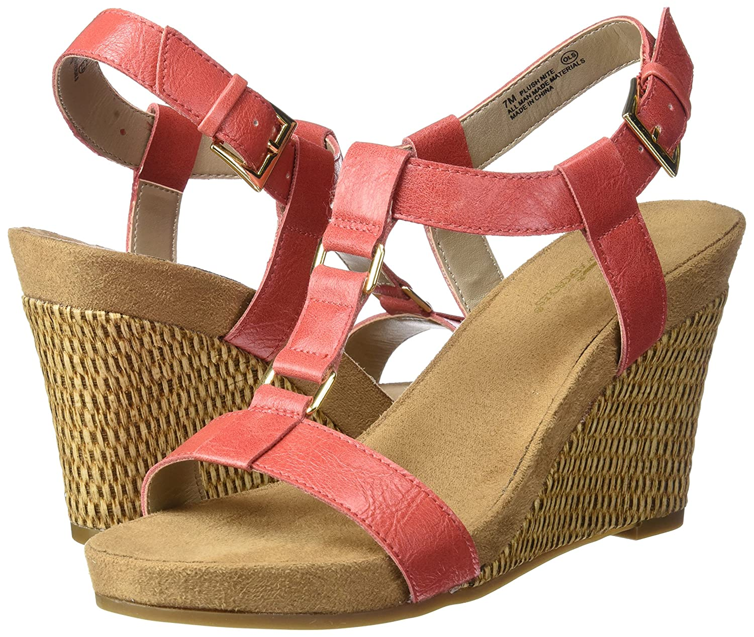 bab2212ccc1a Aerosoles A2 Women s Plush Nite Wedge Sandal  Buy Online at Low Prices in  India - Amazon.in