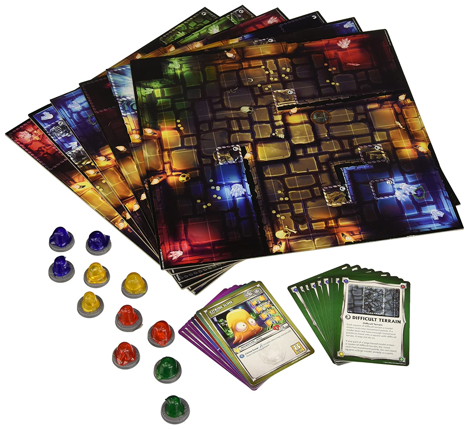 Super Dungeon erkunden V2 - Dungeon Tiles: Dungeon von Crystalia