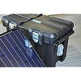Portable 2500 Watt 200Ah Solar Generator & Two 150 Watt Solar Panels