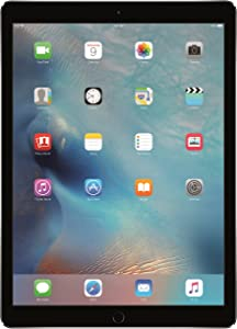 Apple iPad Pro (32GB, Wi-Fi, Space Gray) 12.9in Tablet (Renewed)