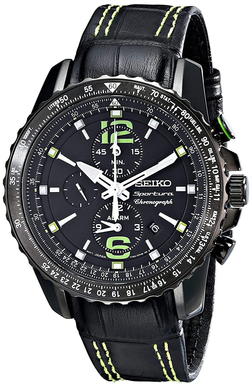 Seiko Men s SNAE97 Sportura-Aviator Watch