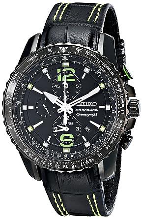 374e12dd034 Amazon.com  Seiko Men s SNAE97 Sportura-Aviator Watch  Seiko  Watches