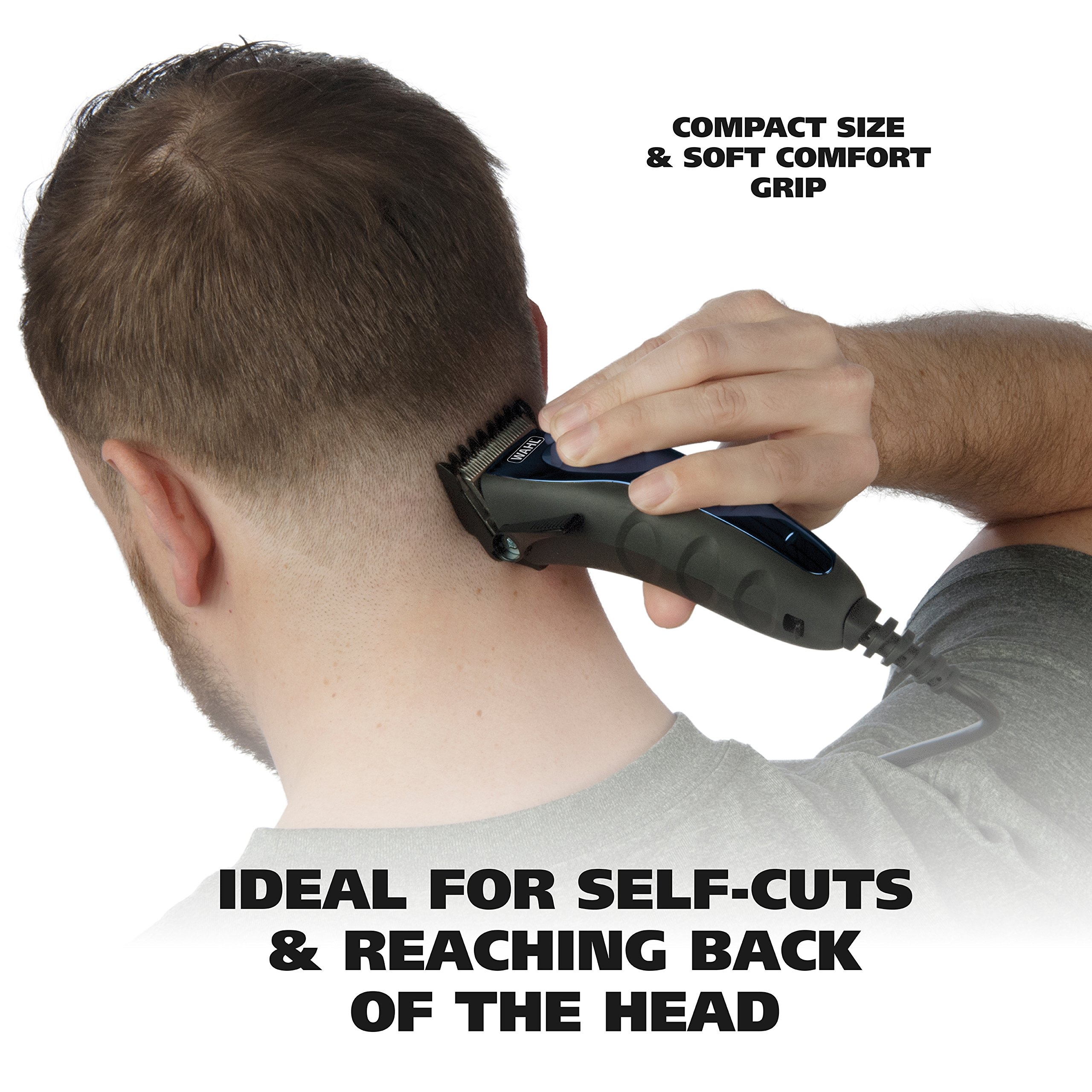 Wahl Clipper Self-Cut Haircutting Kit 79467 Compact Trimming and Personal Grooming Kit by WAHL (Image #3)