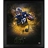 """JuJu Smith-Schuster Pittsburgh Steelers Framed Autographed 20"""" x 24"""" In Focus Photograph - Autographed NFL Photos photo"""