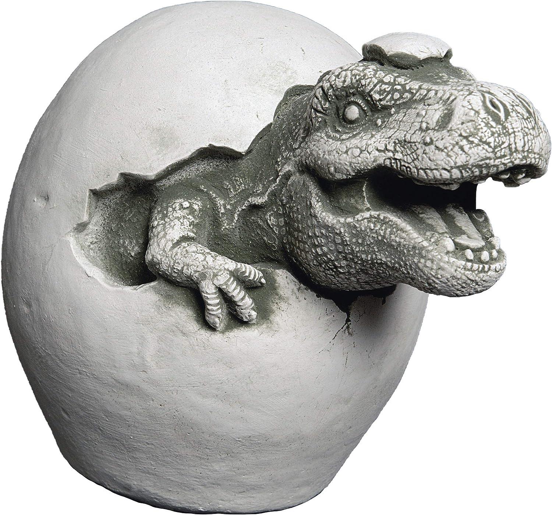 gartendekoparadies.de Dinosaures I Fonte en Pierre r/ésistant au Gel