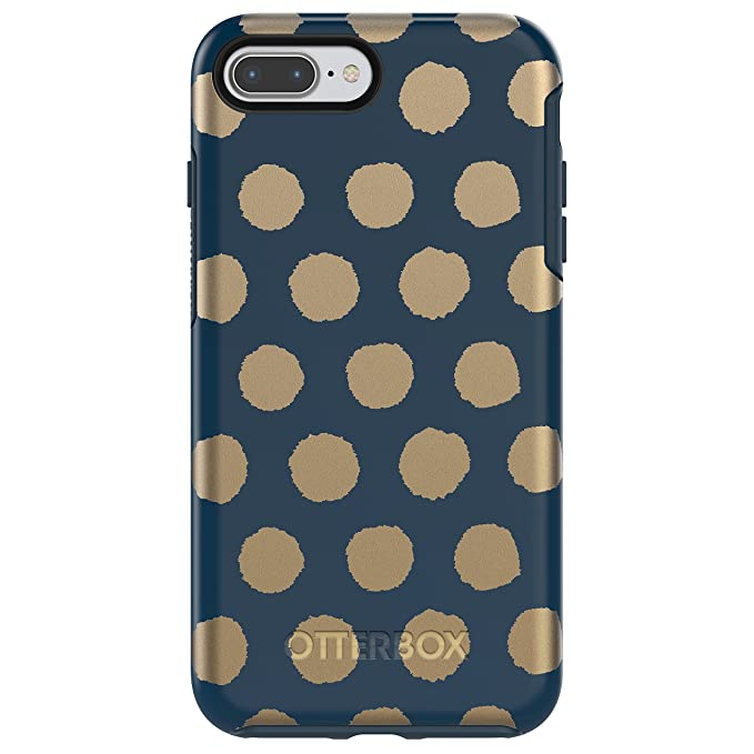 info for 0709e f9a8c OtterBox SYMMETRY SERIES Case for iPhone 8 Plus & iPhone 7 Plus (ONLY) -  Retail Packaging - FIREFLY (BLAZER BLUE/FIREFLY GRAPHIC)