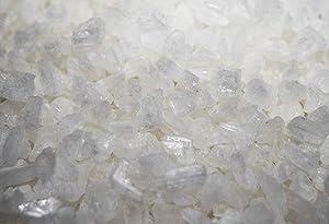 Premium Gourmet White Mediterranean Sea Salt (10 Oz Grinder Grade - Extra-Coarse) in Re-Sealable Refill Bag ~Kosher Certified~ Loved By Chefs Everywhere! Non-GMO
