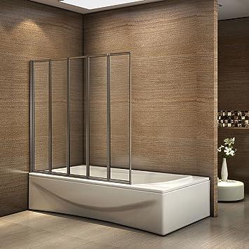 Duschabtrennung Badewanne Faltbar