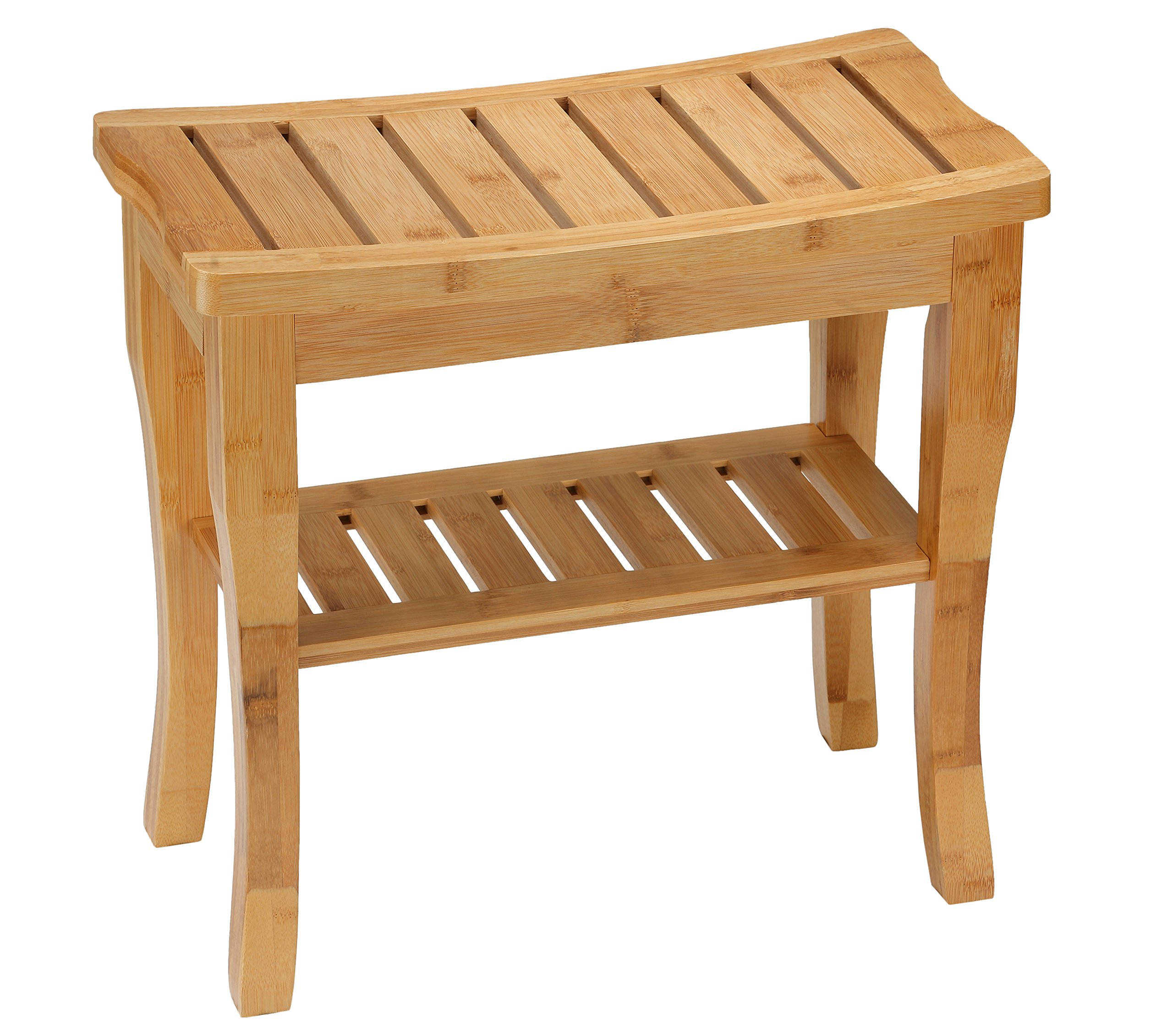 Cortesi Home CH-DB900301 Mack Natural Bamboo Bench, Small
