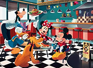 product image for Ceaco Disney Friends Disney Diner Jigsaw Puzzle, 200 Pieces