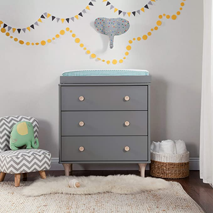 Babyletto Lolly Dresser with Removable Changing Tray
