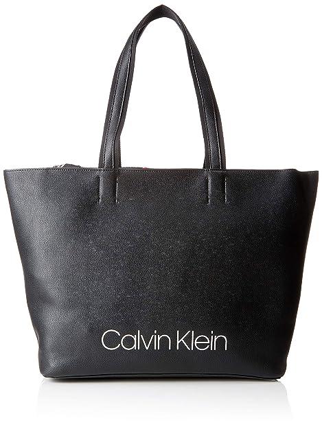 4a2d9e55b09f8 Calvin Klein Jeans Damen Collegic Shopper Schultertasche