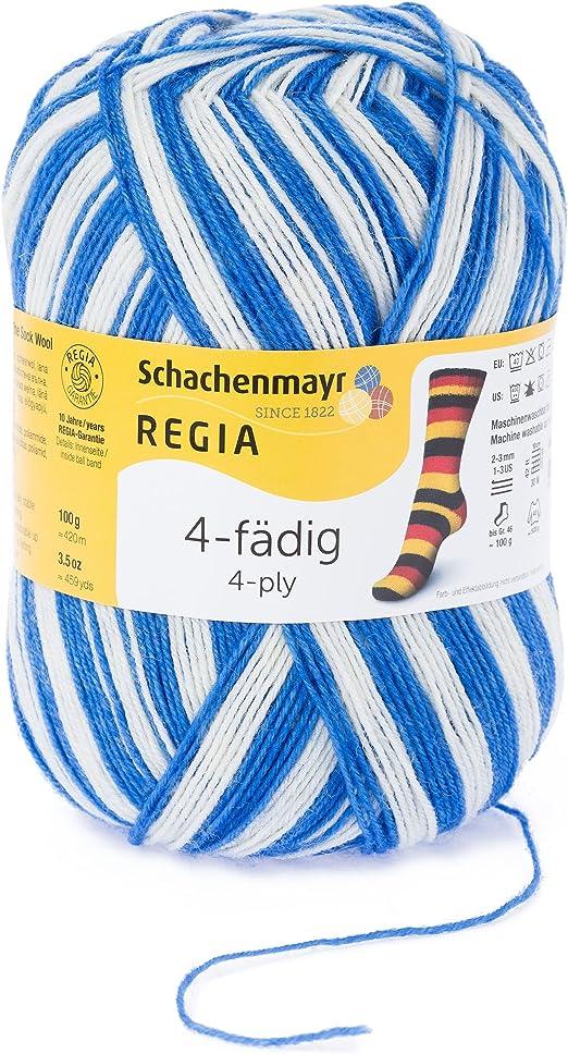 Schachenmayr REGIA Handstrickgarne 4p Color 100g Gerbera