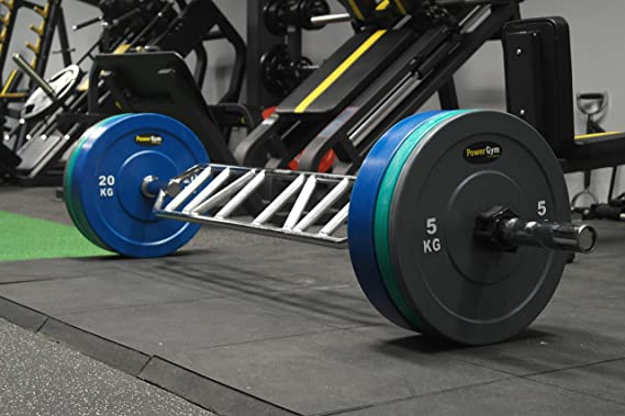 Powergym Swiss Bar 220 cm, Madera Maciza de Acero Inoxidable Fitness: Amazon.es: Deportes y aire libre