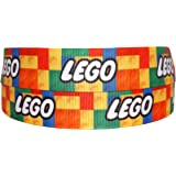 2m x 22mm LEGO GROSGRAIN RIBBON FOR CAKE'S BIRTHDAY CAKES GIFT WRAP WRAPPING RIBBON HAIR BOWS CARDS CRAFT SHOELACES