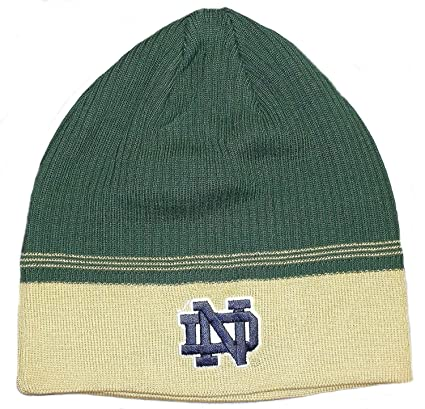 Amazon.com   Notre Dame Fighting Irish NCAA Adidas Green   Gold Two ... 7aaa6eb2f92