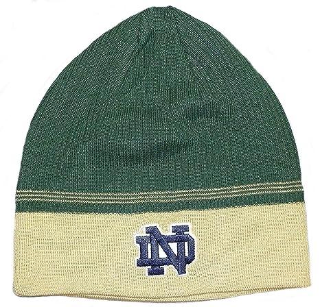 Amazon.com   Notre Dame Fighting Irish NCAA Adidas Green   Gold Two ... 74429b28889