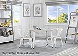 Delta Children Bistro Kids Play Table, White with