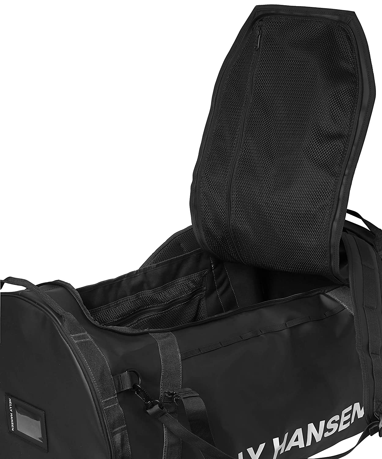 82300d0300d Amazon.com : Helly Hansen Duffel 2 Water Resistant Packable Bag with  Optional Backpack Straps, 90-liter (Large), 990 Black : Clothing