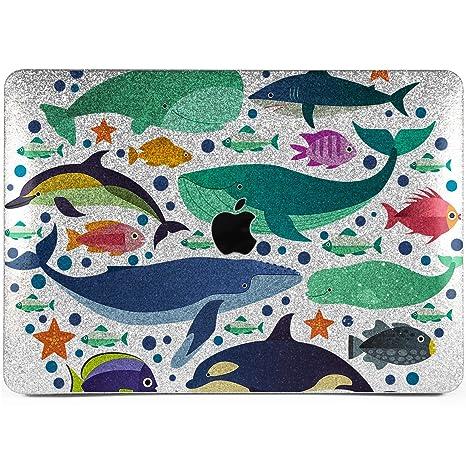 huge selection of dbf30 26beb Amazon.com: Lex Altern Glitter MacBook Pro Case 15 Air 13 inch 12 11 ...
