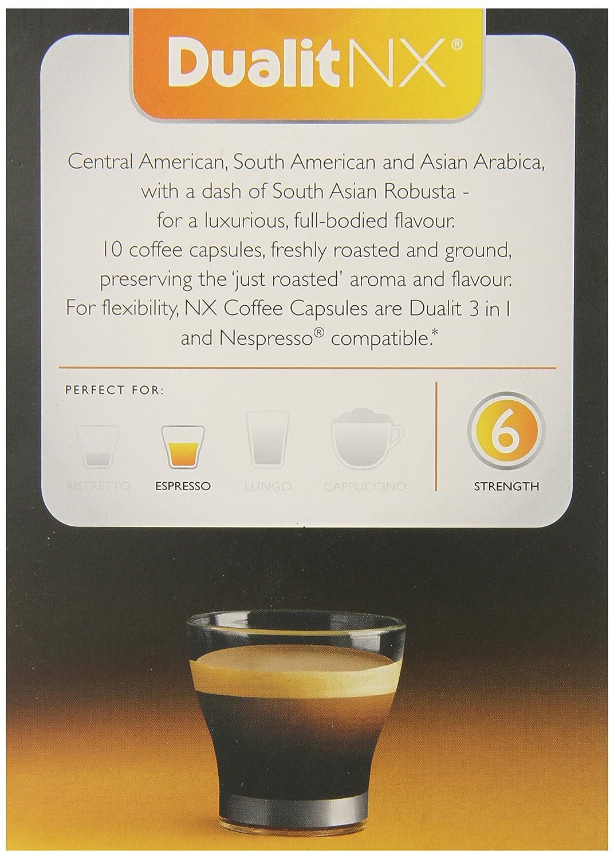 Amazon.com : Dualit Nx Smooth Espresso, 0.28 Pound : Grocery & Gourmet Food