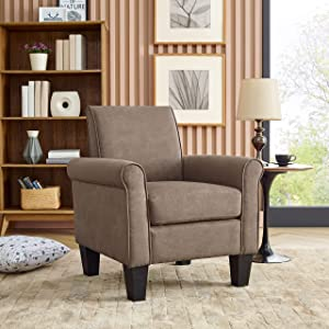 Oadeer Home Chair Sofas, Light Brown
