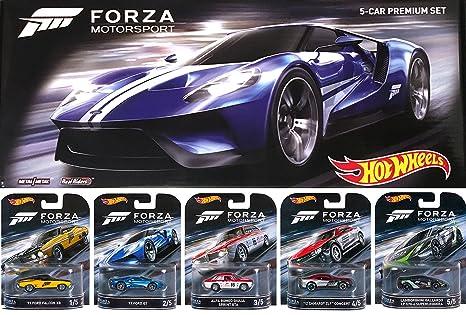 Hot Wheels  Forza Motorsport Retro Entertainment Series Box Premium Set Lamborghini Gallardo