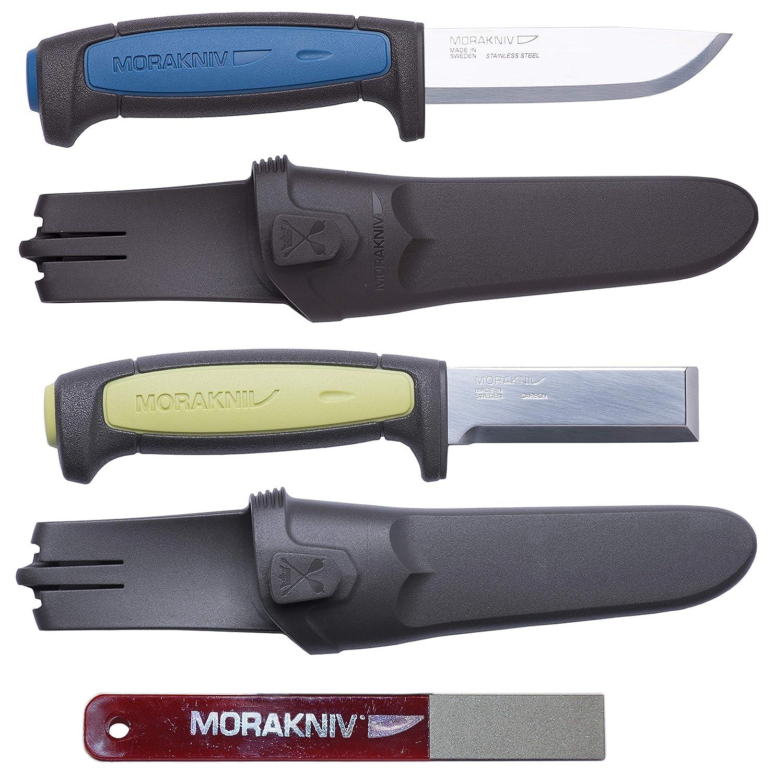 Amazon.com: Morakniv Craft - Juego de cuchillo y afilador ...